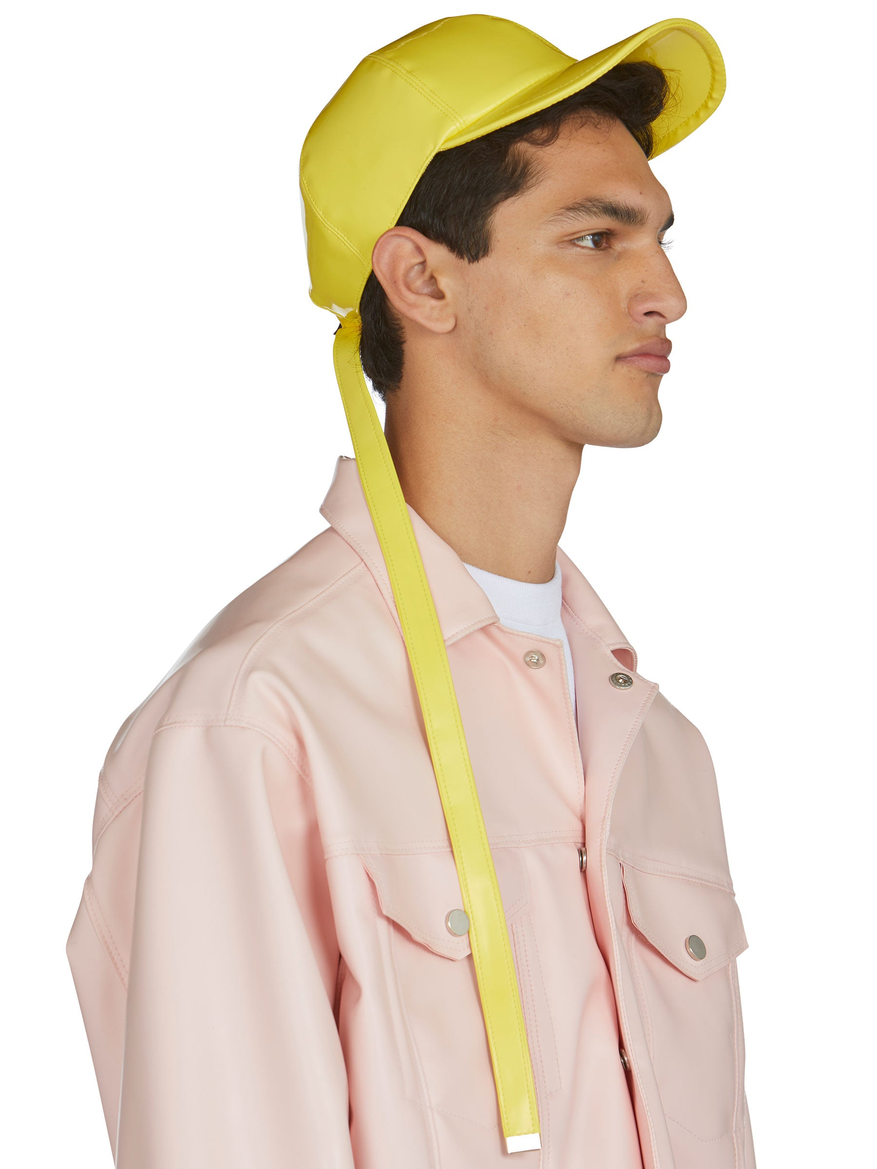 odd92 Shop Arthur Avellano Spring/Summer 2019 Menswear Womenswear Yellow Latex Cap - 3
