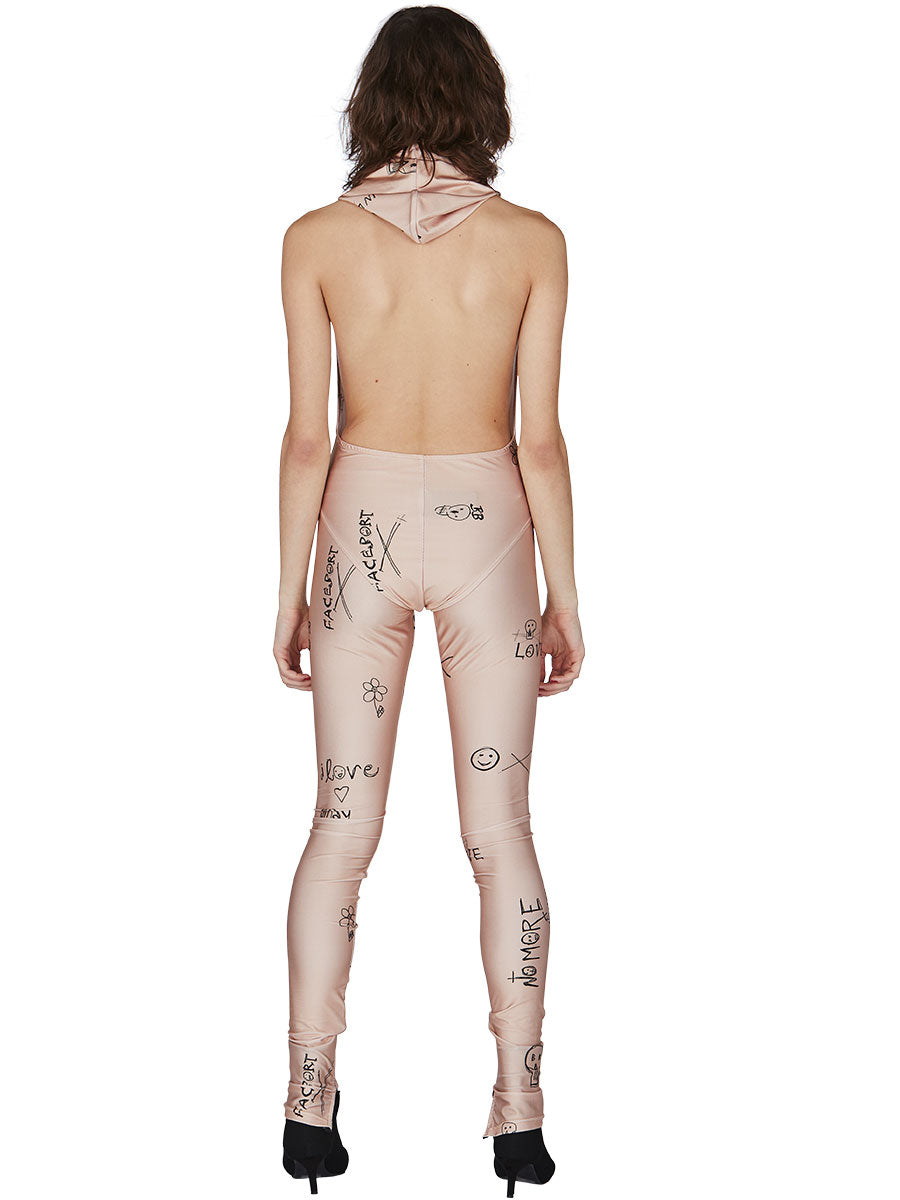 odd92 Exclusive Barbara Bologna Print Leggings Spring/Summer 2019 Womenswear - 4