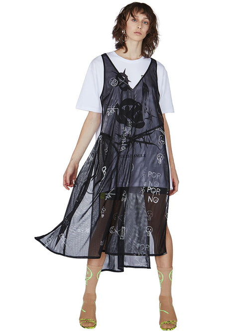 odd92 Barbara Bologna Spring/Summer 2019 Womenswear Tulle T-Shirt Dress - 2