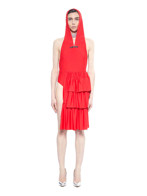 Barbara Bologna red be brave swim dress - 1