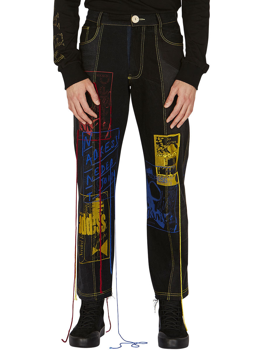 odd92 Bethany Williams Hachette Jeans Spring/Summer 2019 Menswear - 2