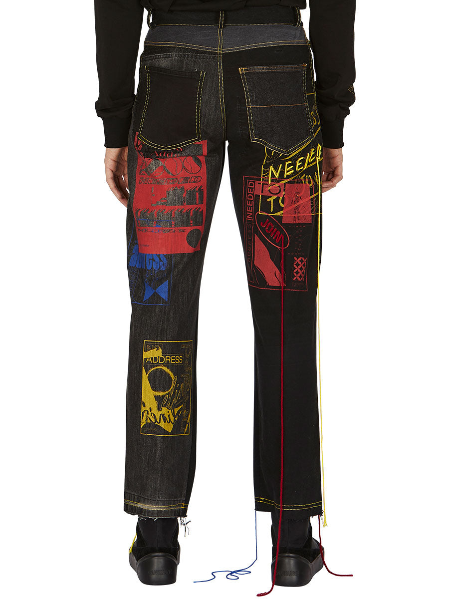 odd92 Bethany Williams Hachette Jeans Spring/Summer 2019 Menswear - 4