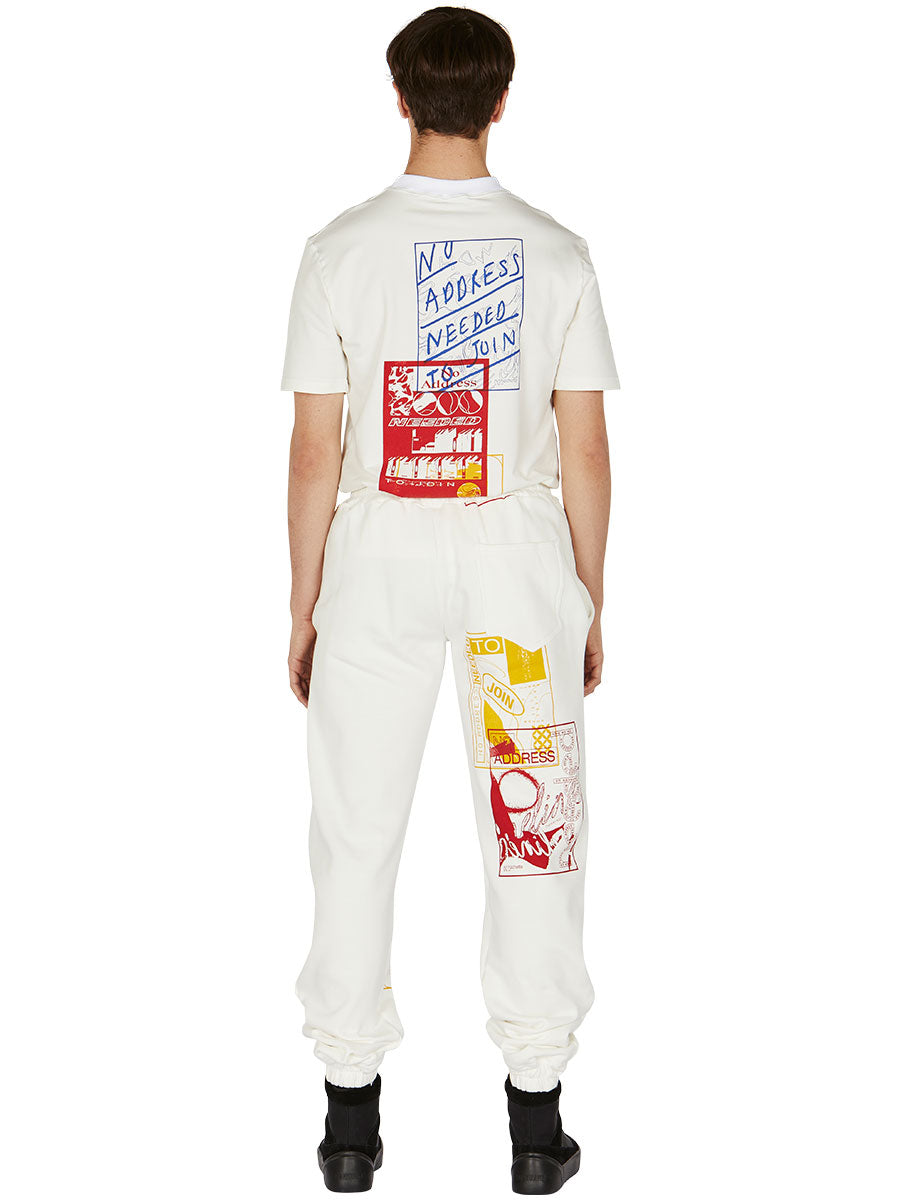 odd92 Bethany Williams Hachette Joggers Spring/Summer 2019 Menswear - 4
