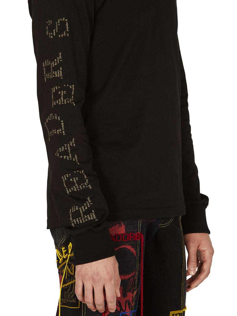 odd92 Bethany Williams Readers Long-Sleeve T-Shirt Spring/Summer 2019 Menswear - 2