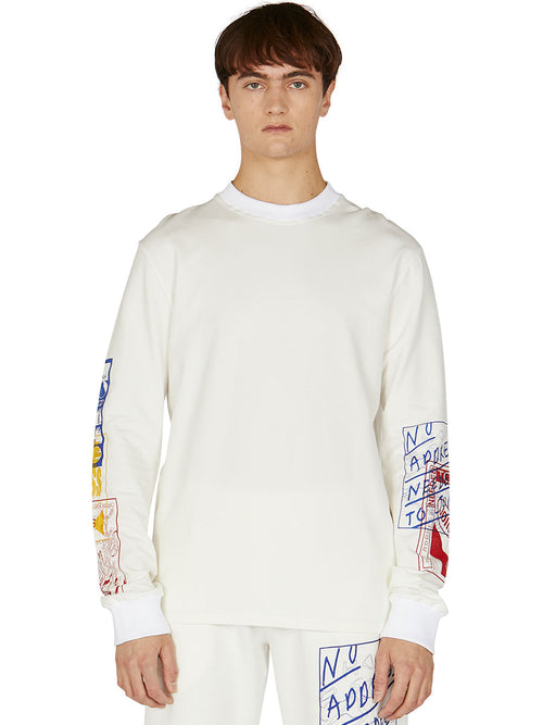 odd92 Bethany Williams Hachette Long-Sleeve T-Shirt Spring/Summer 2019 Menswear - 2