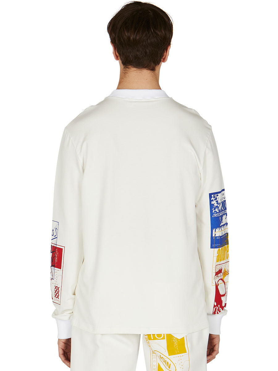 odd92 Bethany Williams Hachette Long-Sleeve T-Shirt Spring/Summer 2019 Menswear - 4