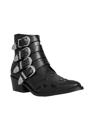 Western Buckle Boots