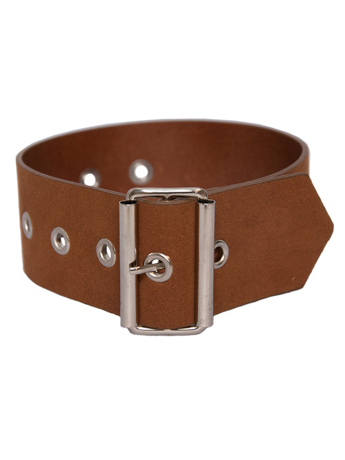 CHIN MENS  Synthetic Leather Neck Belt - 1