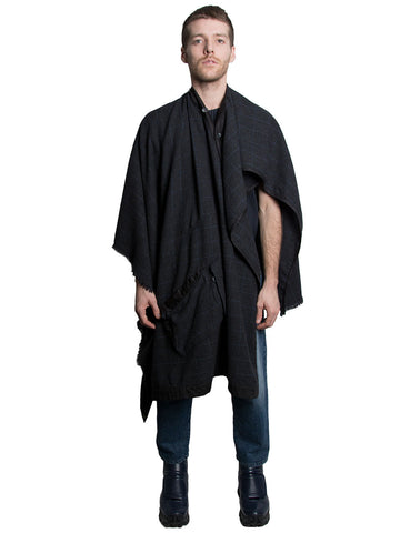 Wool Cashmere Cape