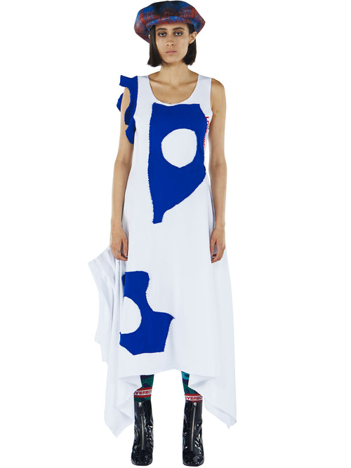 odd92 Charles Jeffrey Loverboy Fall/Winter 2019 Womenswear Jersey Drape Dress - 2