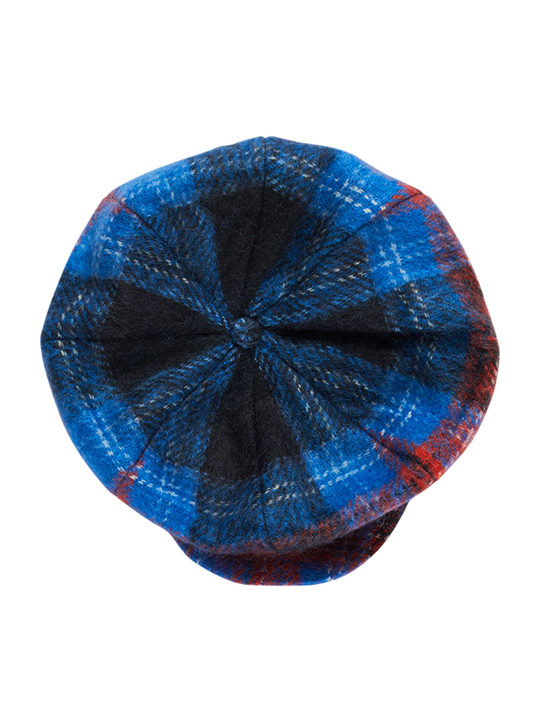 odd92 Charles Jeffrey Loverboy Fall/Winter 2019 Tartan Flat Cap - 1