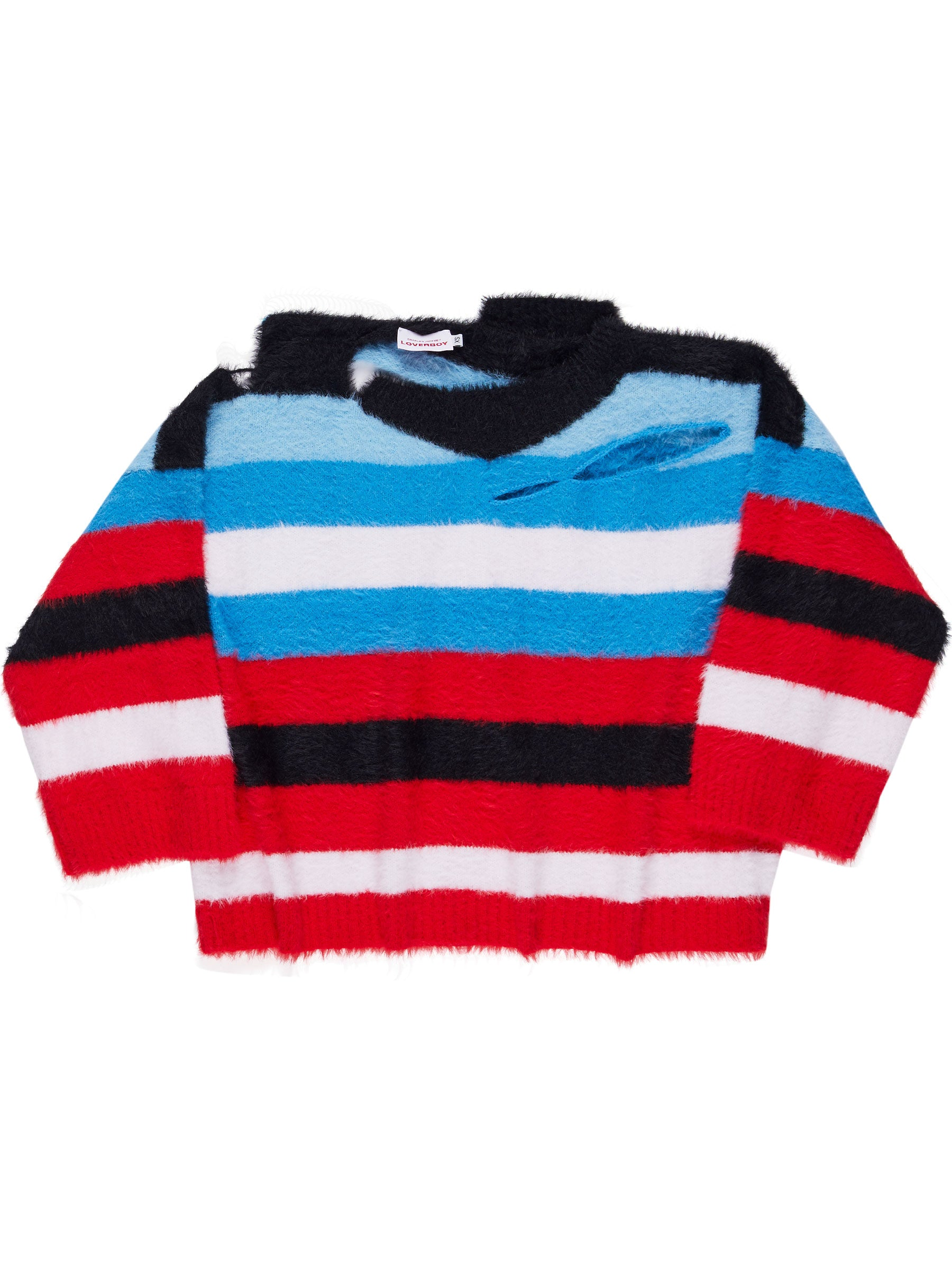 odd92 Charles Jeffrey Loverboy Fall/Winter 2019 Unisex Knitwear Wild Things Sweater - 1