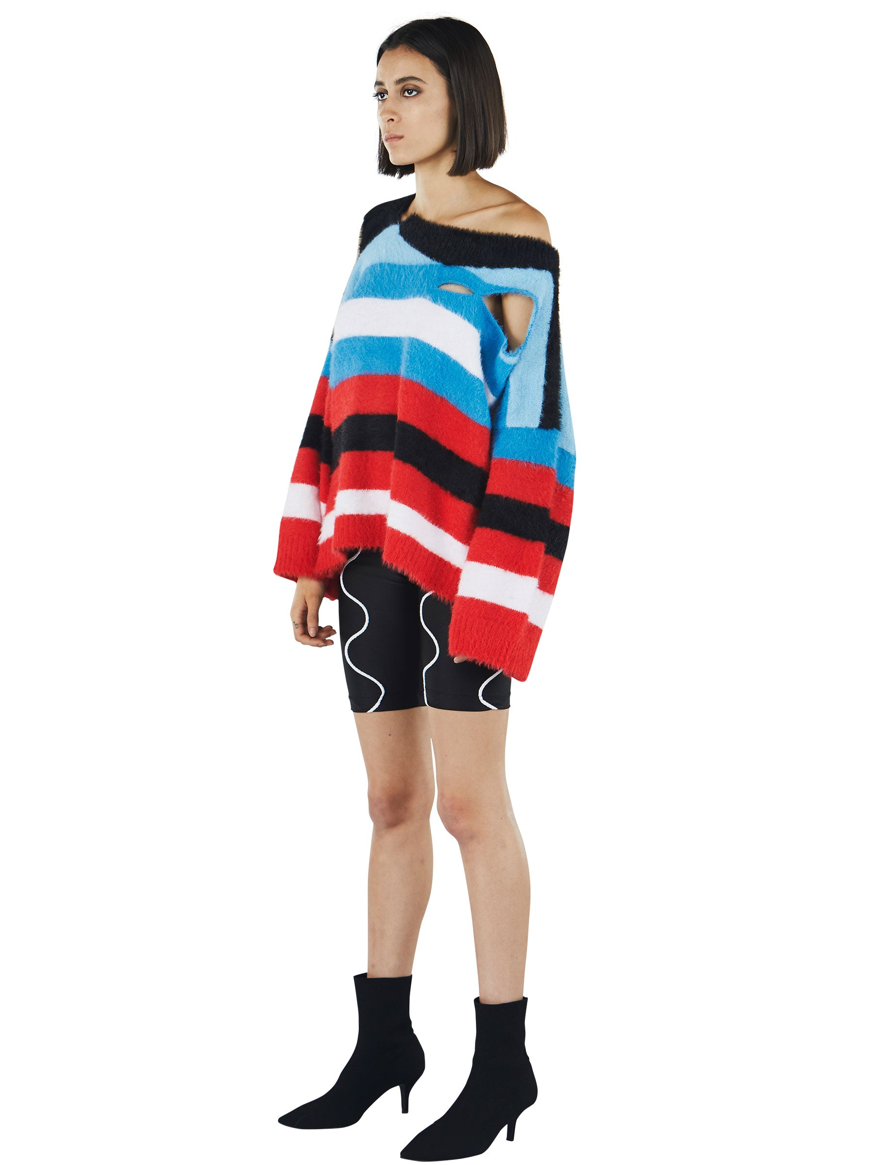 odd92 Charles Jeffrey Loverboy Fall/Winter 2019 Unisex Knitwear Wild Things Sweater - 4