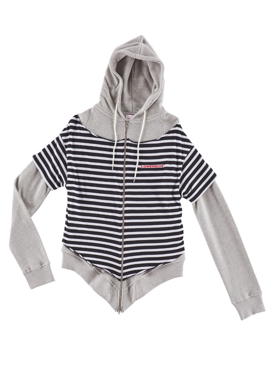 odd92 Charles Jeffrey Loverboy Spring/Summer 2019 All Tied Up Hoodie - 1