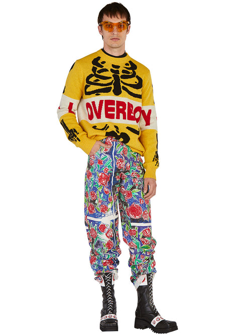 odd92 Charles Jeffrey Loverboy Spring/Summer 2019 Scribble Rose Pants - 2