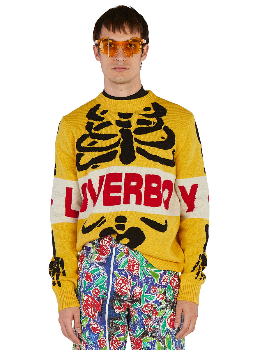 odd92 Charles Jeffrey Loverboy Spring/Summer 2019 Loverboy Skeleton Sweater - 3