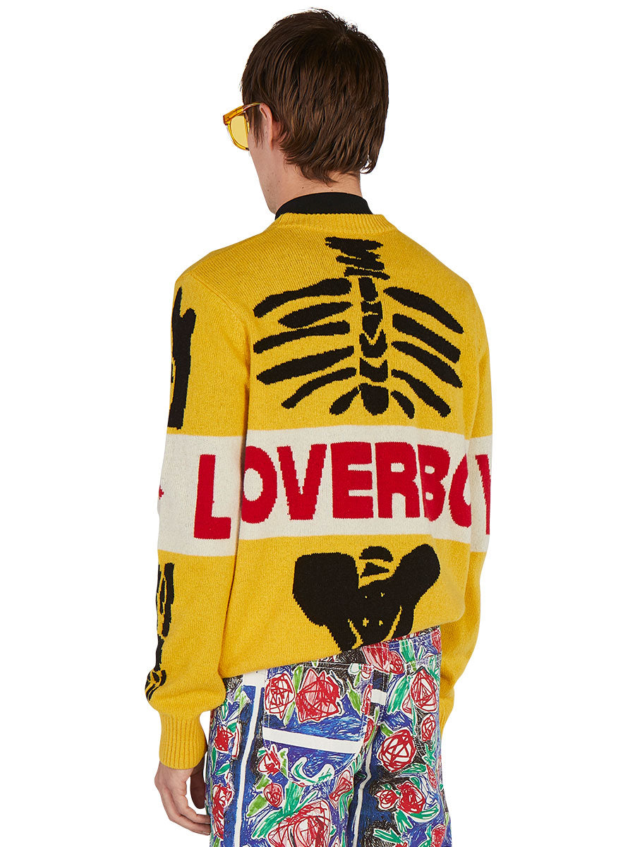 odd92 Charles Jeffrey Loverboy Spring/Summer 2019 Loverboy Skeleton Sweater - 5
