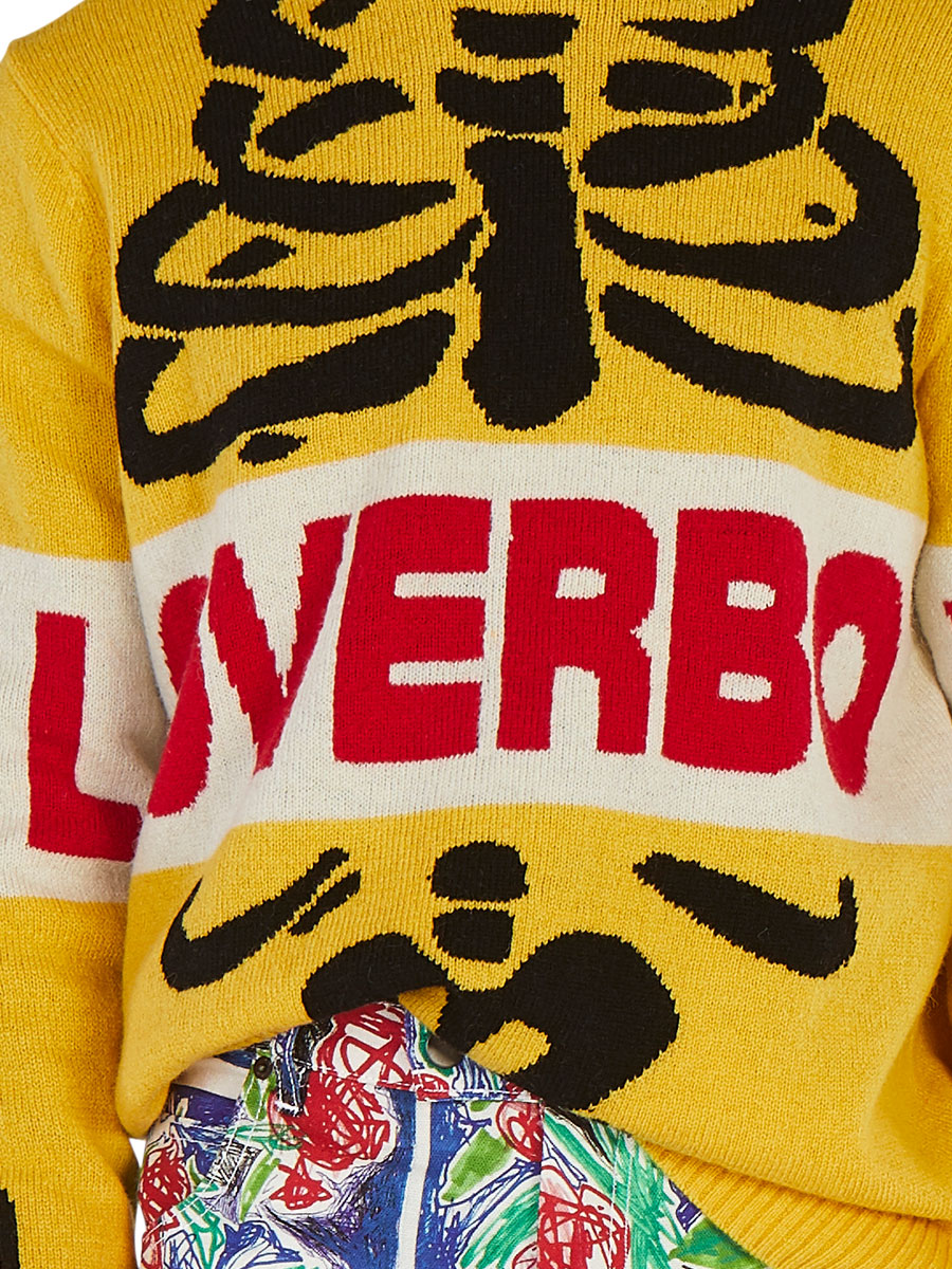 odd92 Charles Jeffrey Loverboy Spring/Summer 2019 Loverboy Skeleton Sweater - 6