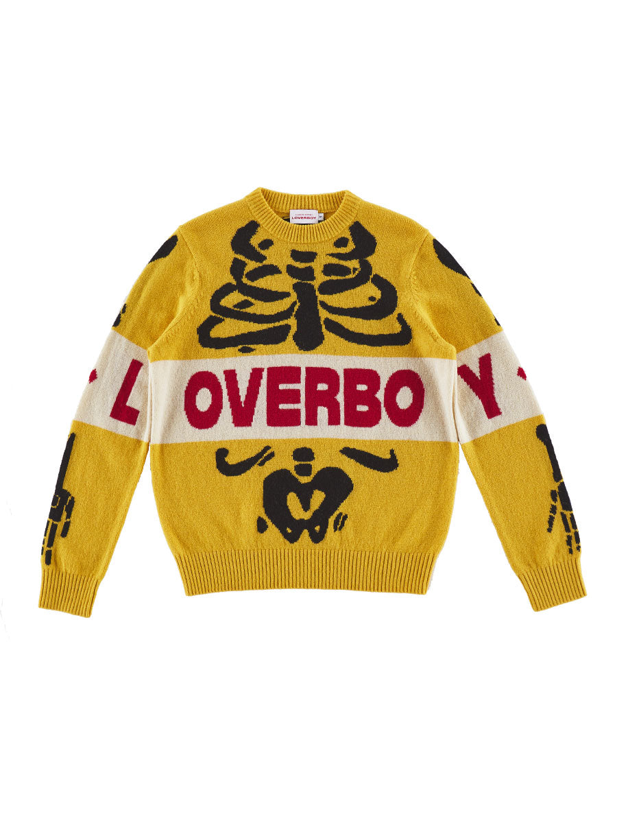 odd92 Charles Jeffrey Loverboy Spring/Summer 2019 Loverboy Skeleton Sweater - 1