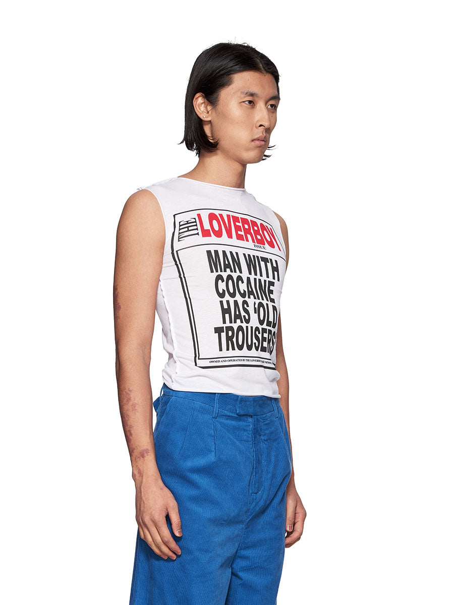 Charles Jeffrey Loverboy Old Trousers Newsboy Tee - 3