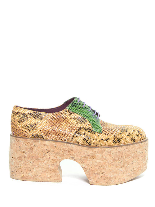 x Roker Atelier High Derby Platforms