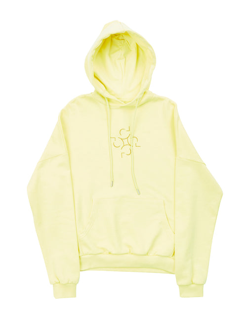 Embroidered Lotus Hoodie