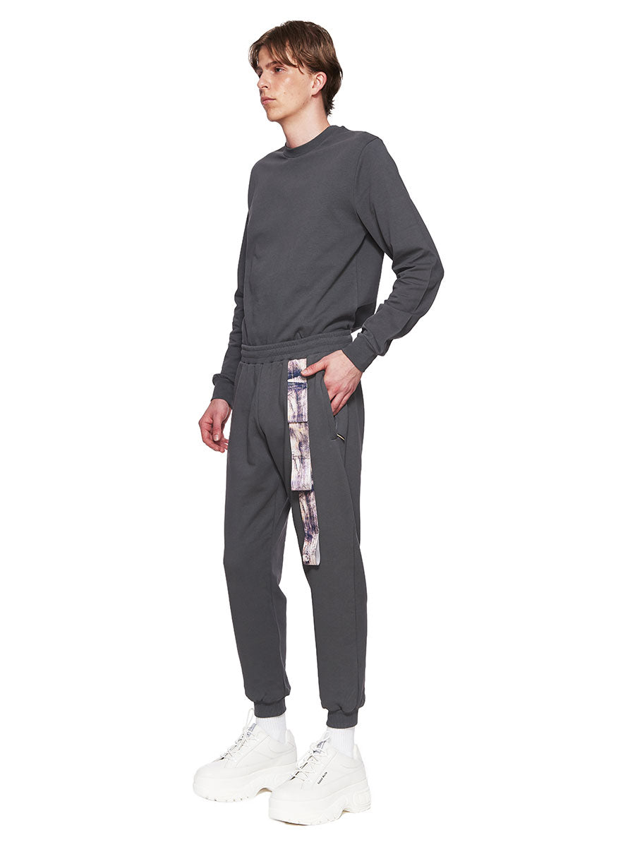 Cottweiler Grey Harness Joggers FW18 - 5