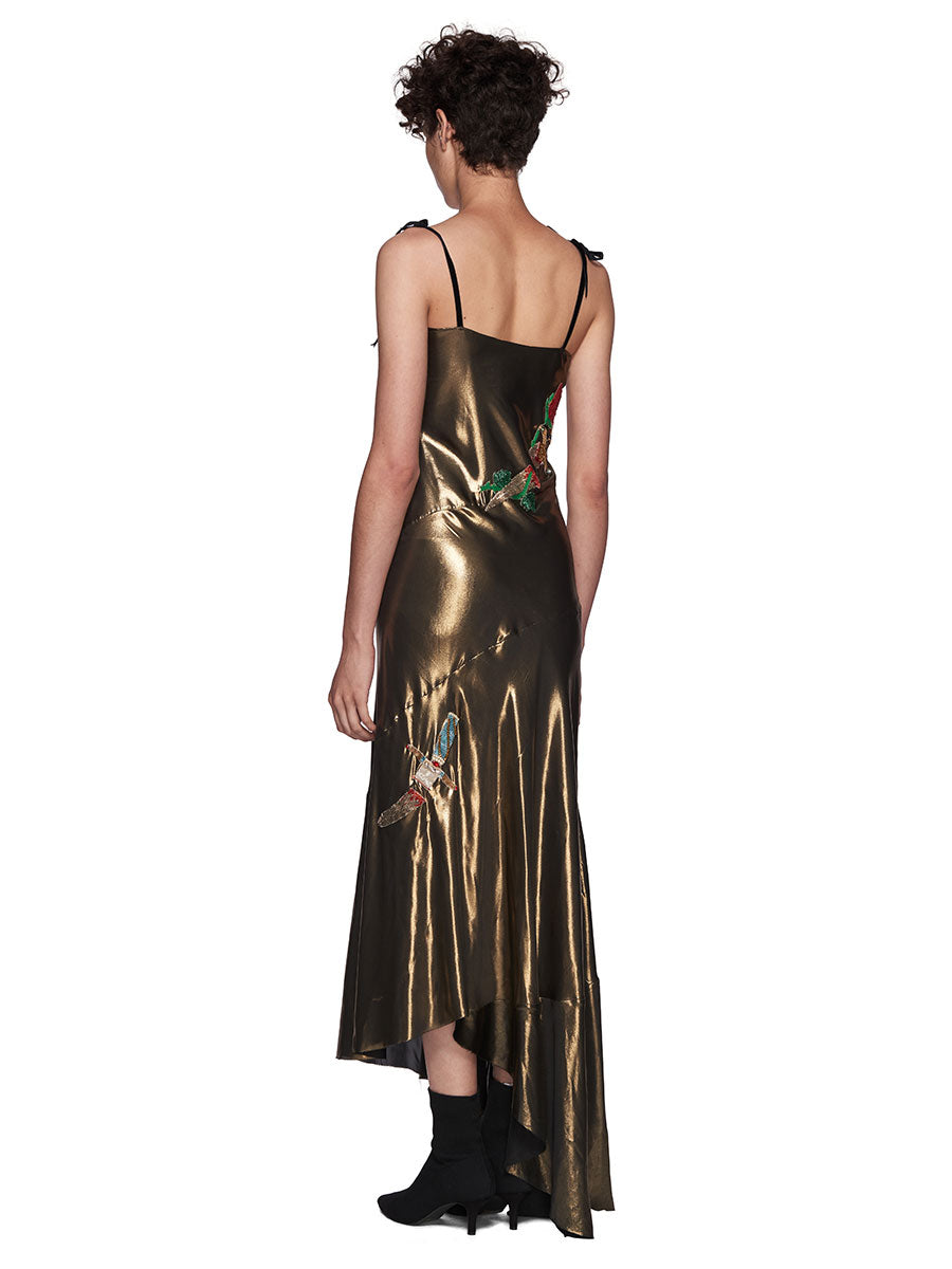 Dilara Findikoglu Gold Dagger Dress - 4