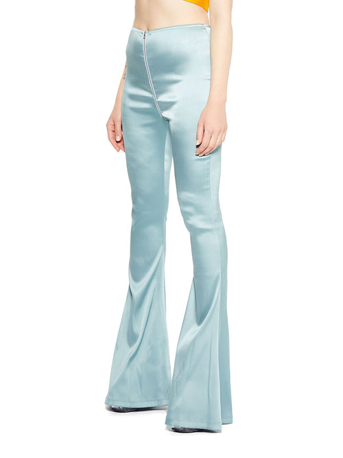 Eric Schlosberg  blue grey VMA bell bottoms - 2