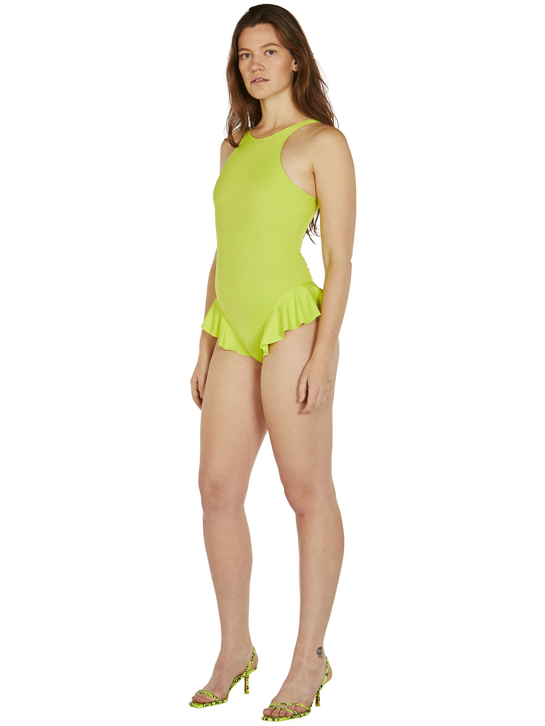 odd92 Fantabody Acid Green Erika Swimsuit Spring/Summer 2019 Womenswear - 2