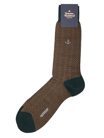 Jacquard Lattice Socks