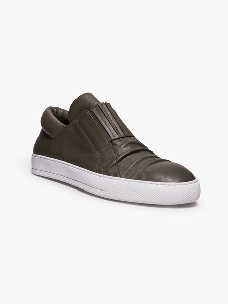 ALEXANDRE PLOKHOV  Creased Low-Top Sneakers - 3