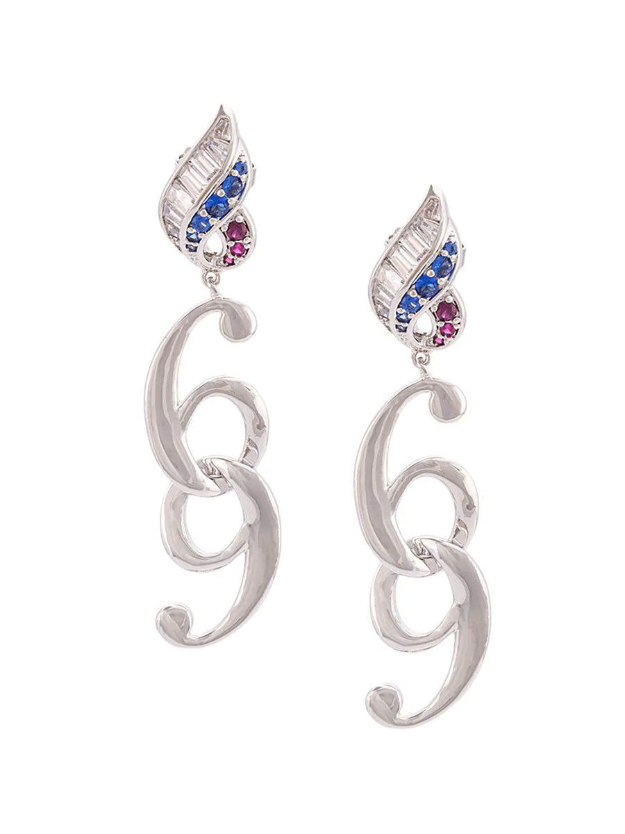 Jiwinaia 69 Flame Earrings - 1