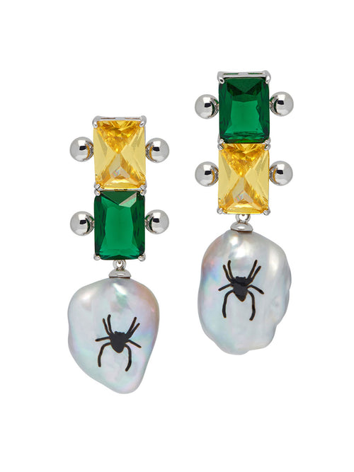 odd92 Jiwinaia Spider Drop Earrings Jewelry Spring/Summer 2019 - 1