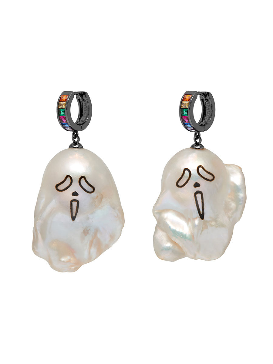 odd92 Jiwinaia Urlo Ghost Earrings Spring/Summer 2019 Jewelry - 1
