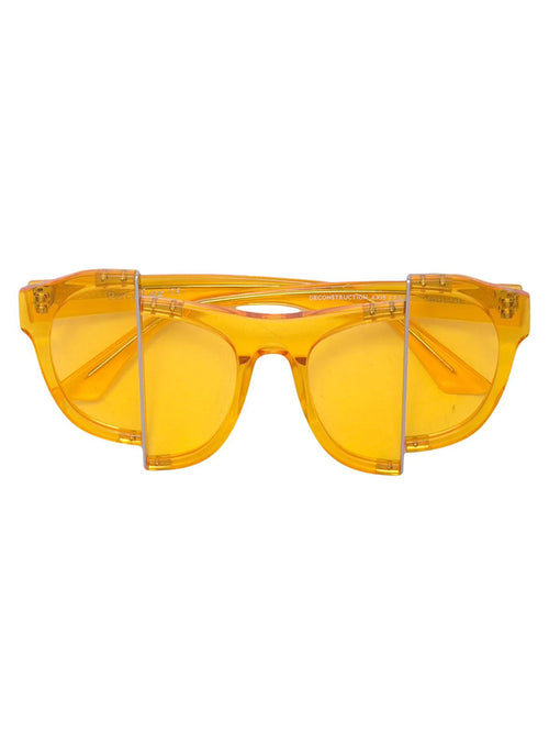 odd92 Percy Lau Yellow Axis Y Designer Sunglasses - 1