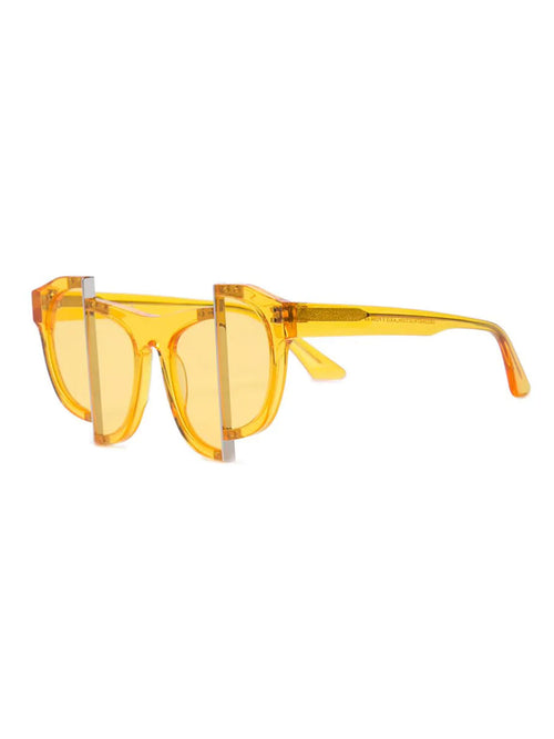 odd92 Percy Lau Yellow Axis Y Designer Sunglasses - 2