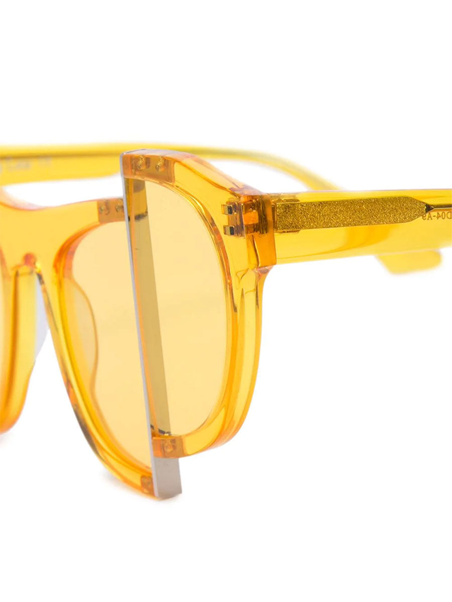 odd92 Percy Lau Yellow Axis Y Designer Sunglasses - 3