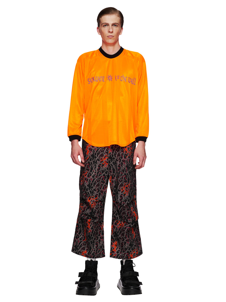 Sankuanz Fall/Winter 2018 Menswear Orange Kill The Wall Top odd92 - 6