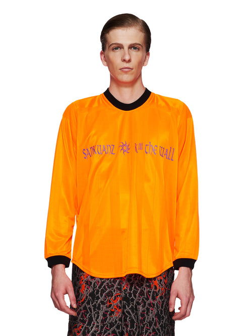 Sankuanz Fall/Winter 2018 Menswear Orange Kill The Wall Top odd92 - 1