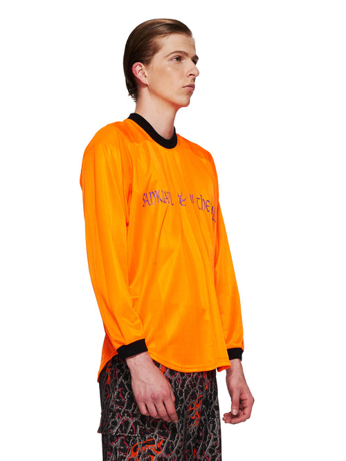 Sankuanz Fall/Winter 2018 Menswear Orange Kill The Wall Top odd92 - 2