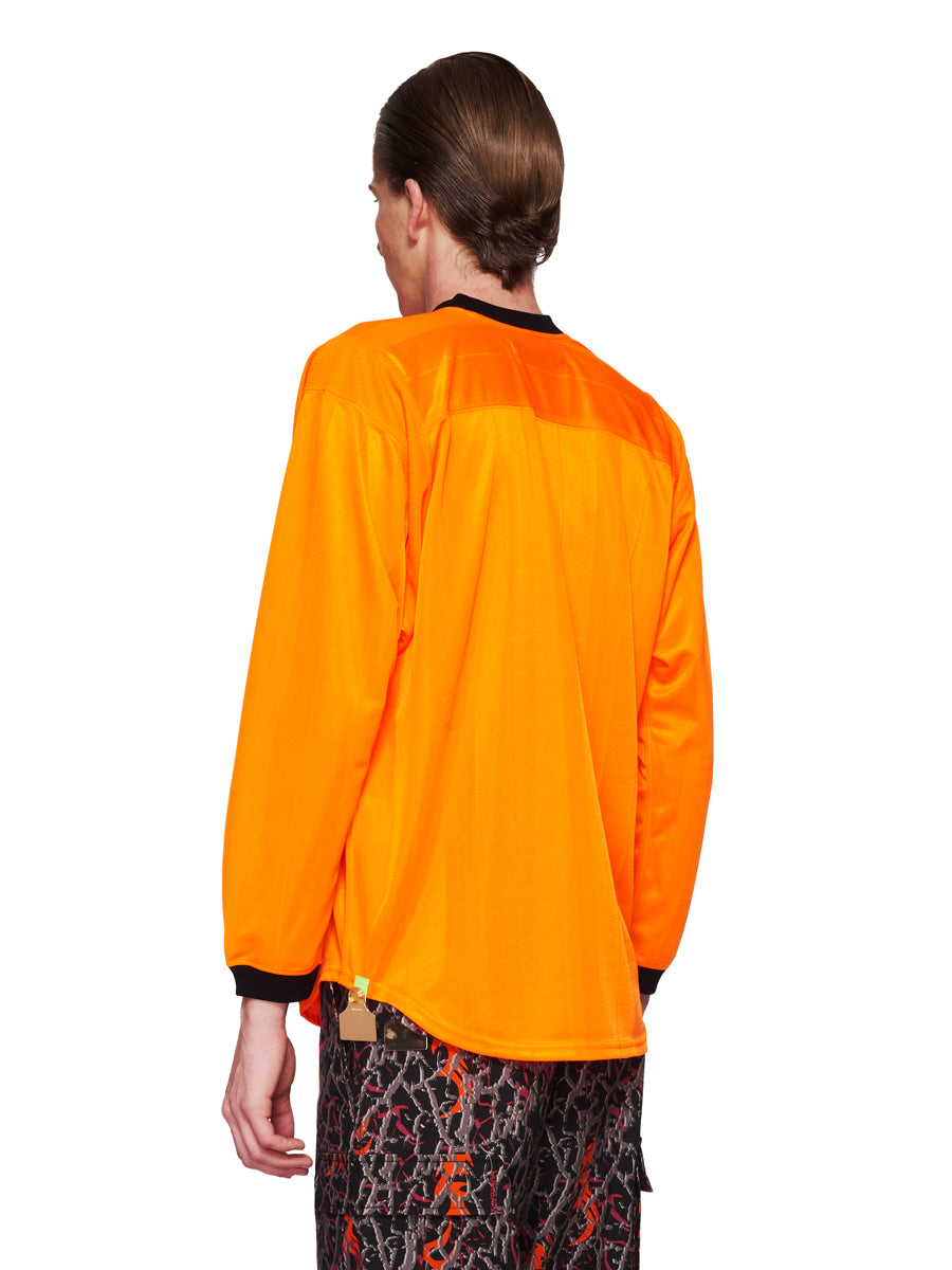 Sankuanz Fall/Winter 2018 Menswear Orange Kill The Wall Top odd92 - 3