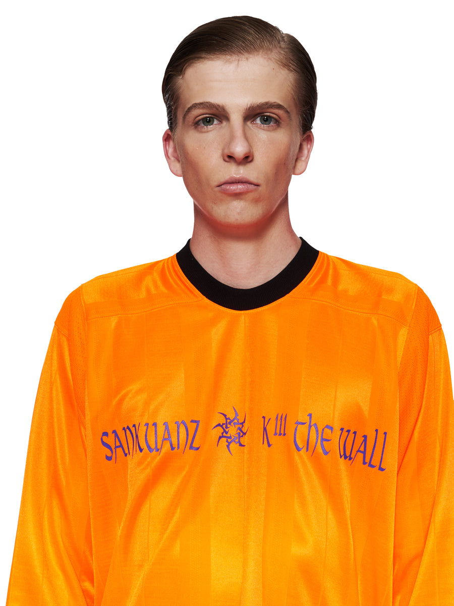 Sankuanz Fall/Winter 2018 Menswear Orange Kill The Wall Top odd92 - 4