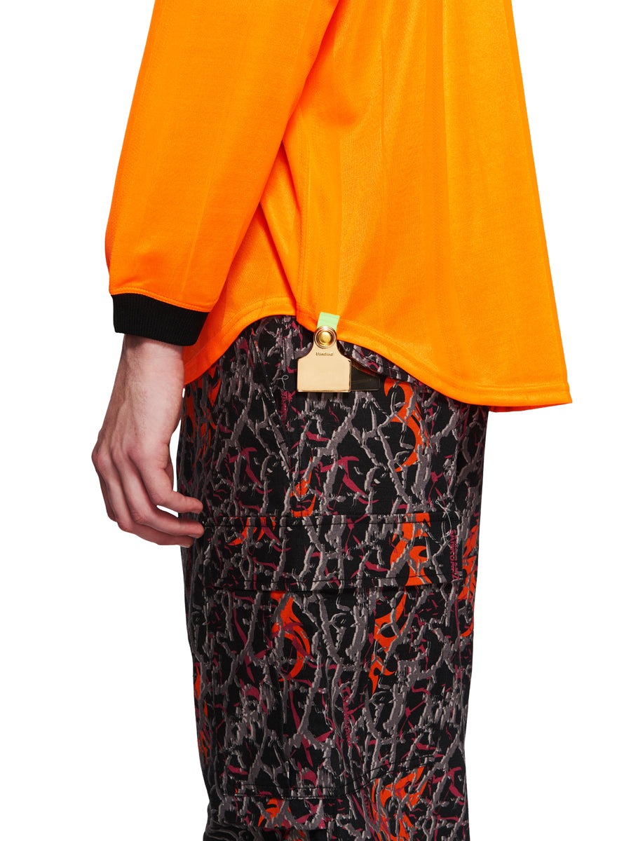 Sankuanz Fall/Winter 2018 Menswear Orange Kill The Wall Top odd92 - 5