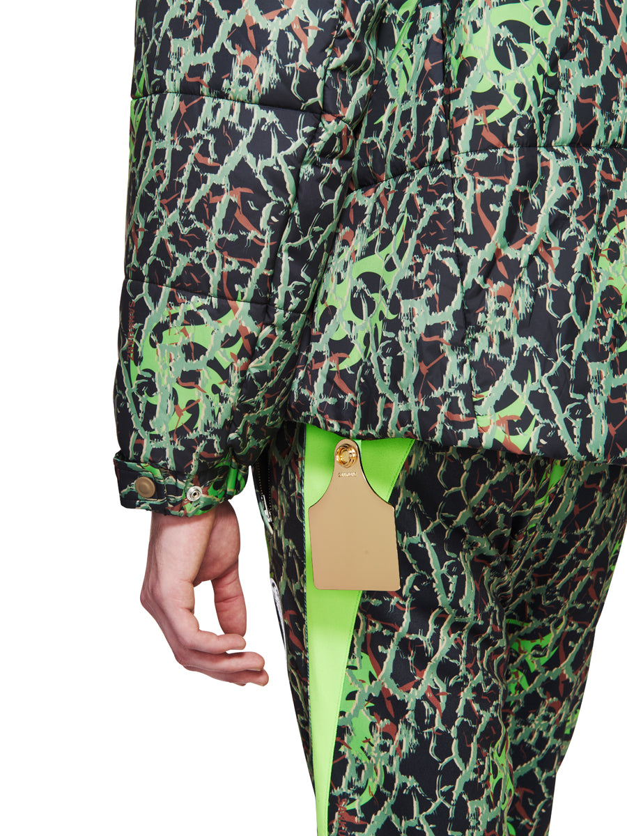Sankuanz Fall/Winter 2018 Menswear Green Layered Camo Jacket odd92 - 5