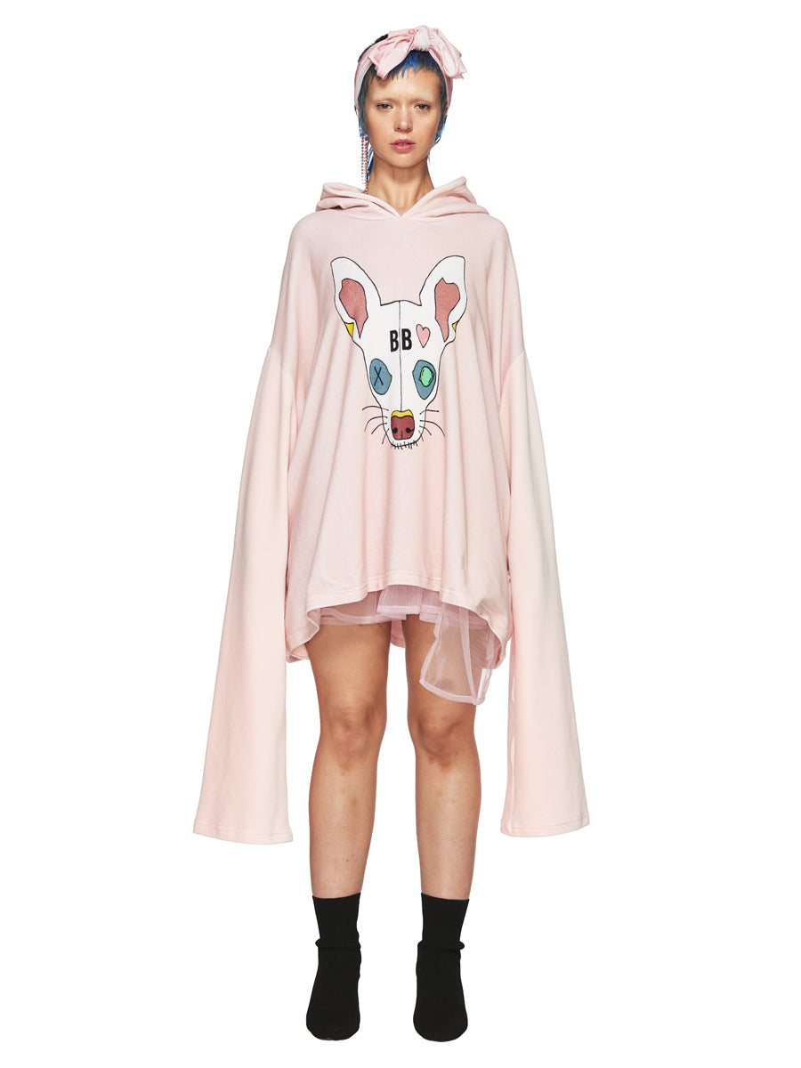 Barbara Bologna Pink Dodi Hoodie Dress odd92 exclusive - 2