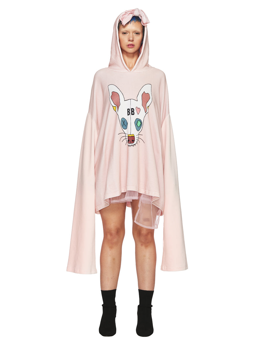 Barbara Bologna Pink Dodi Hoodie Dress odd92 exclusive - 1