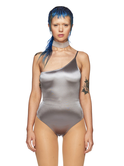 Fantabody Silver Pina Bodysuit odd92 exclusive - 1