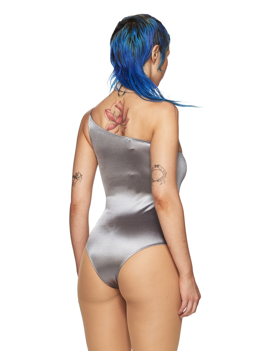 Fantabody Silver Pina Bodysuit odd92 exclusive - 5