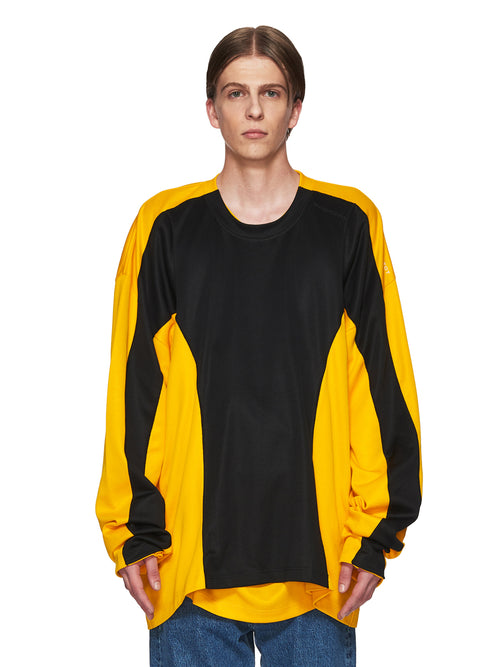 Y/Project Black and Yellow Skinny Long-Sleeve T-Shirt odd92 - 2
